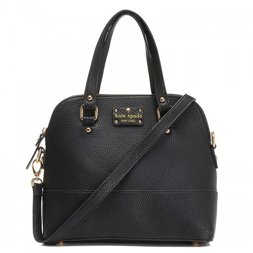 Kate Spade New York Satchel Grove Court Maise Black
