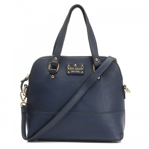 Kate Spade New York Satchel Grove Court Maise Deepblue