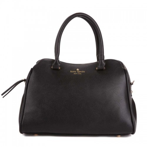 Kate Spade New York Charles Street Mini Audrey Satchel Bag Black