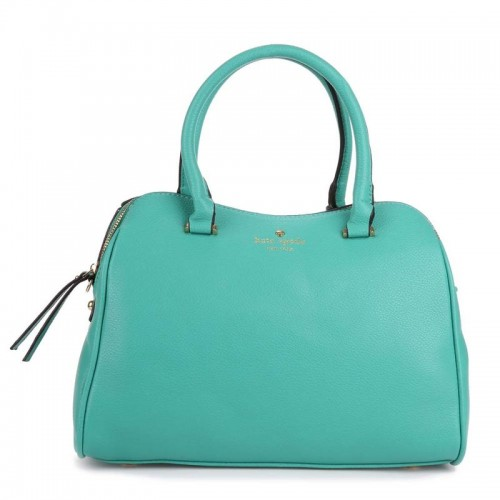 Kate Spade New York Charles Street Mini Audrey Satchel Bag Blue