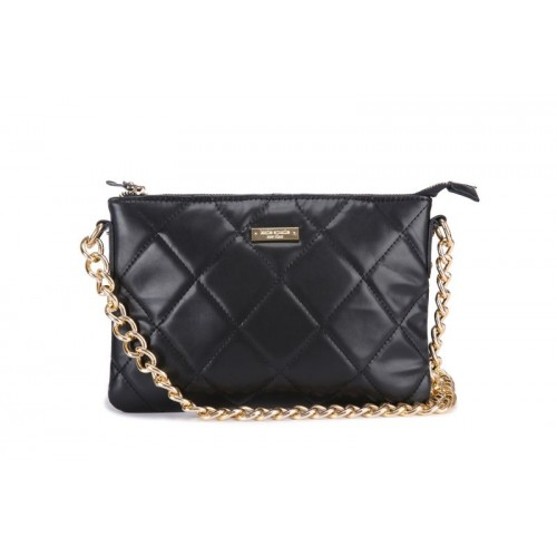 Kate Spade Gold Coast Ginnie Crossbody Bag In Black