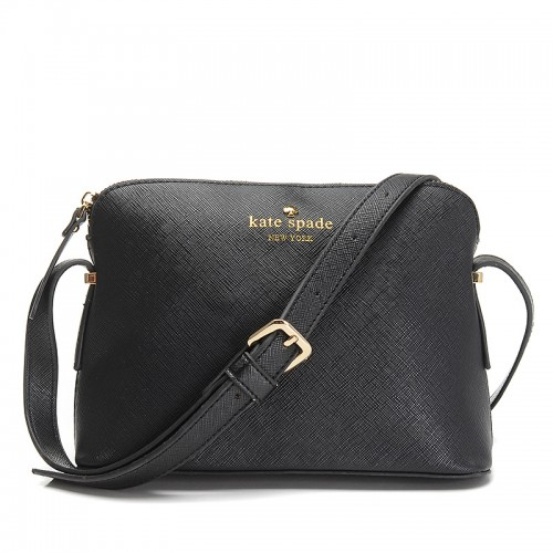 Kate Spade Irini Cove Street Leather Crossbody Bag Black