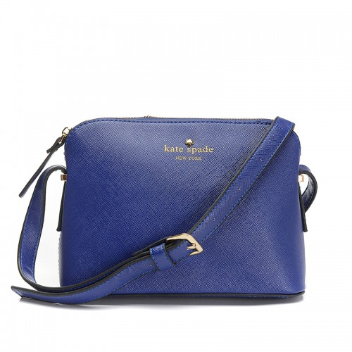 Kate Spade Irini Cove Street Leather Crossbody Bag Deepblue