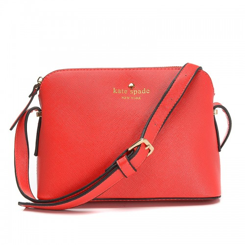 Kate Spade Irini Cove Street Leather Crossbody Bag Red