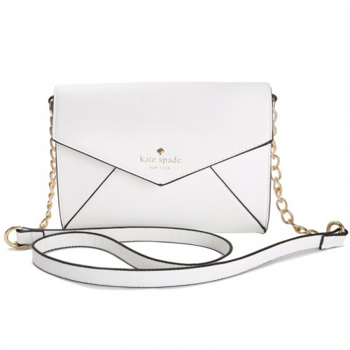 Kate Spade New York Cedar Street Monday Cross Body Handbag White