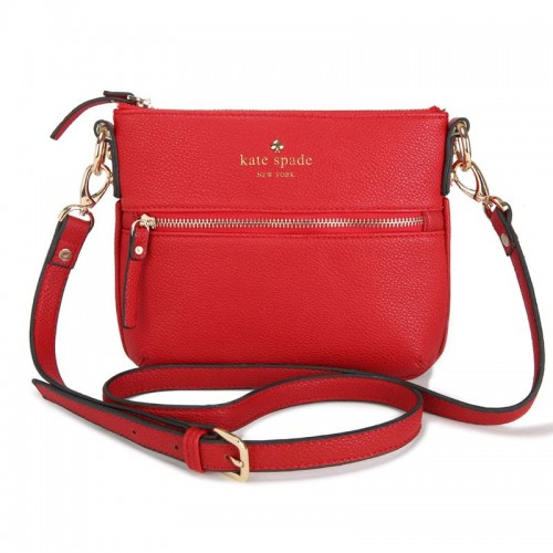 Kate Spade New York Cobble Hill Tenley Crossbody Leather Bag Red