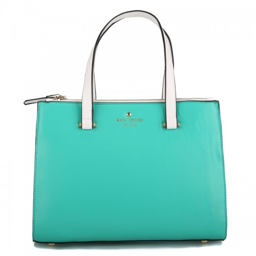 Kate Spade Battery Park City Evalyn Tote In Vivid Giverny Blue