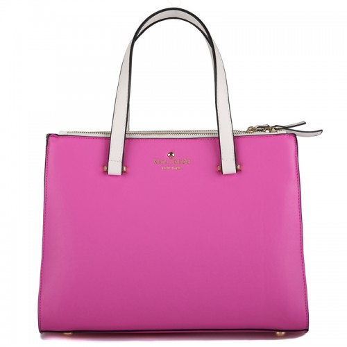 Kate Spade Battery Park City Evalyn Tote In Vivid Pink
