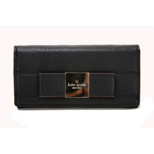 Kate Spade Bow Terrace Darla Wallet Black