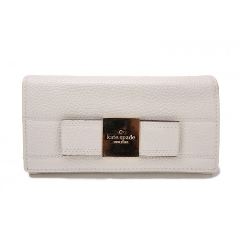 Kate Spade Bow Terrace Darla Wallet Cream