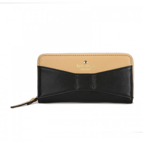 Kate Spade New York Lacey Wallet Black With Brown