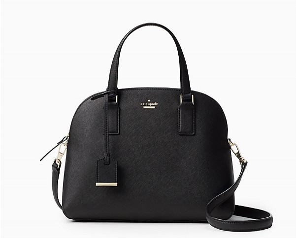 Kate Spade New York Cameron Street Maise Leather Shoulder Bag Bl